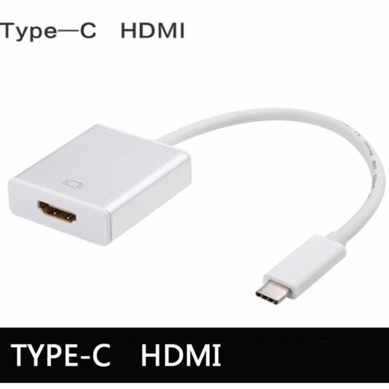 Bảng giá Cáp chuyển đổi USB Type-C sang HDMI cho Macbook chuẩn USB 3.1 (Trắng) Phong Vũ