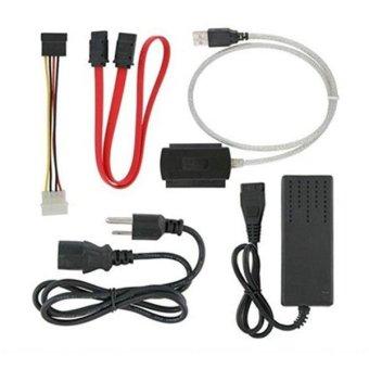 Cáp chuyển tín hiệu USB ra IDE và SATA - Dtech 8003A