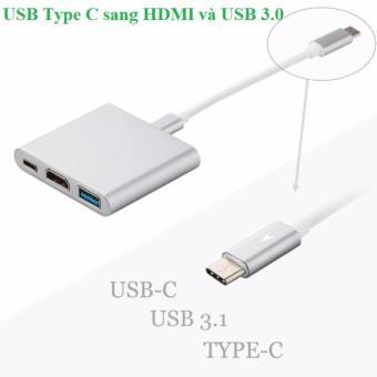 Cáp chuyển USB Type C sang HDMI và USB 3.0 giá rẻ - 8413861 , OE680ELAA8YAAMVNAMZ-17587922 , 224_OE680ELAA8YAAMVNAMZ-17587922 , 850000 , Cap-chuyen-USB-Type-C-sang-HDMI-va-USB-3.0-gia-re-224_OE680ELAA8YAAMVNAMZ-17587922 , lazada.vn , Cáp chuyển USB Type C sang HDMI và USB 3.0 giá rẻ