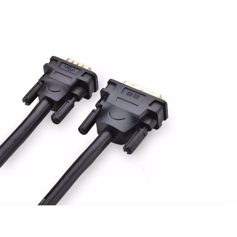 Bảng giá Cáp DVI (24+5) to VGA dài 1.5m Ugreen 11617 (Đen) Phong Vũ