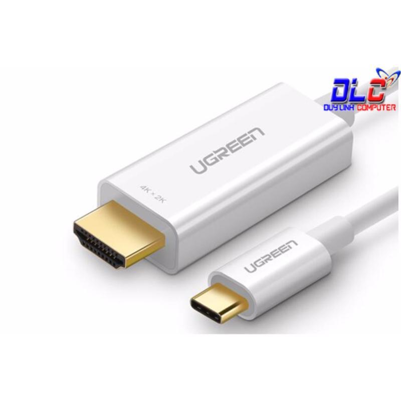 Bảng giá Cáp kết nối USB Type C to HDMI dài 1,5m Ugreen 30841 hỗ trợ 3D, 4K Phong Vũ