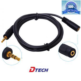 Cáp nối dài Audio 3.5 Dtech DT-6215 dài 1,5m