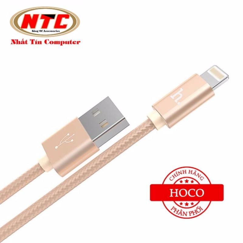 Nơi bán Cáp sạc Lightning Hoco X2 cho iPhone - dài 1m (Vàng đồng) - Hãng phân phối chính thức