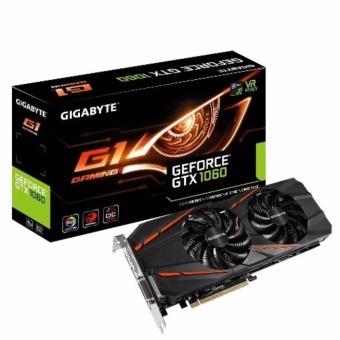 Card màn hình Gigabyte 6GB GV-N1060G1 Gaming-6GD mạnh như xe tăng