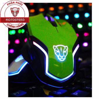 Chuột game thủ Motospeed V60 Optical Gaming Mouse (Xanh)