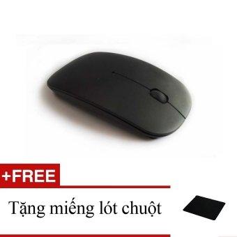 Chuột không dây văn phòng X9 (đen) + tặng một miếng lót chuột