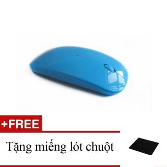Chuột không dây X8 (xanh dương) + tặng một miếng lót chuột
