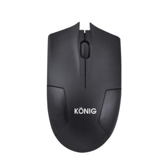 Chuột quang không dây Konig KN915 (Đen)