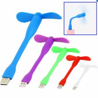 Mua Combo 3 Quạt Mini 2 cánh cắm cổng USB ( màu ngẫu nhiên)  ở đâu tốt?