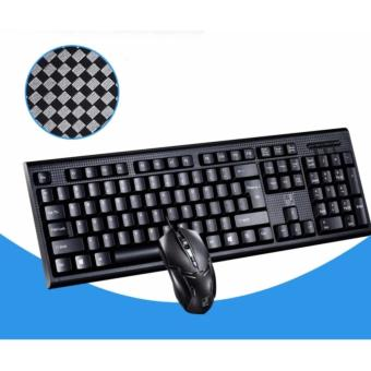Combo bộ bàn phím chuột văn phòng Q9 (Sợi Carbon Siêu Bền) - 2