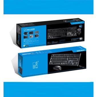Combo bộ bàn phím chuột văn phòng Q9 (Sợi Carbon Siêu Bền) - 5