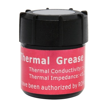Computers Laptops Cpu Fans Heatsinks Thermal Grease Conductive Silicone Paste Cooling Cooler Heatsink For Cpu Pc - intl