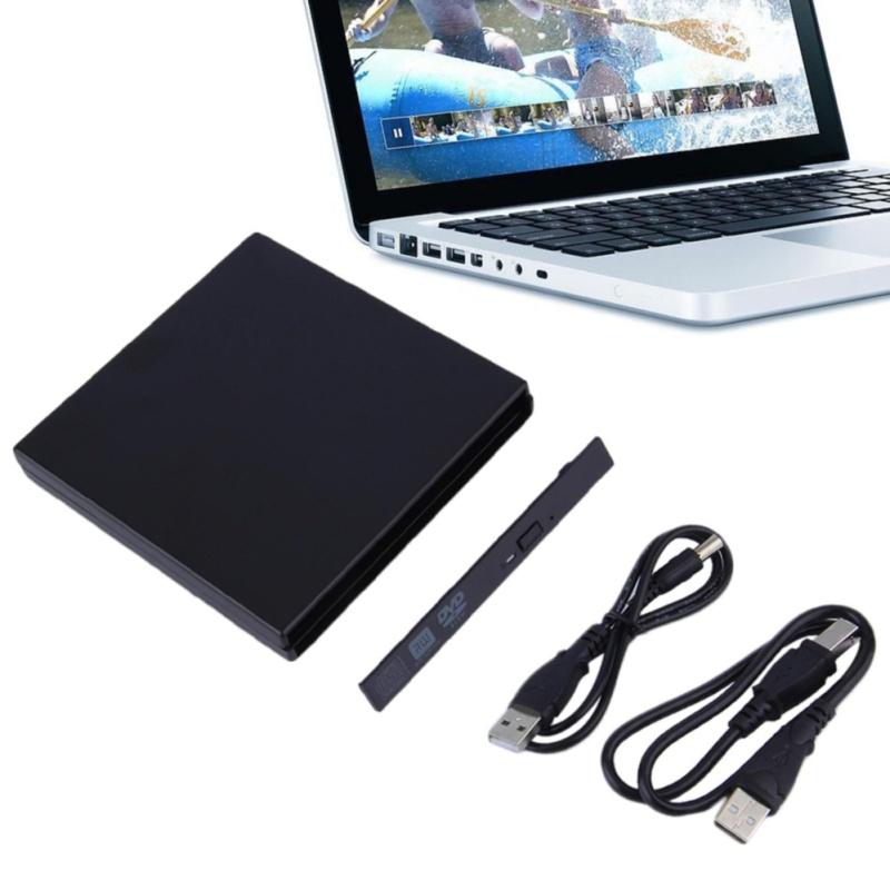 Bảng giá Computers Laptops External Dvd Writers Portable Usb 2.0 Dvd Cd Dvd-Rom Sata External Case Slim For Laptop Notebook - intl Phong Vũ