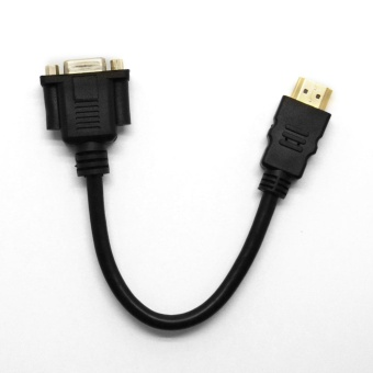 Computers Laptops Vga Cables 1080P Hdmi Male To Vga Pins Female Video Av Adapter Cable For Hdtv Set-Topit Pc - intl