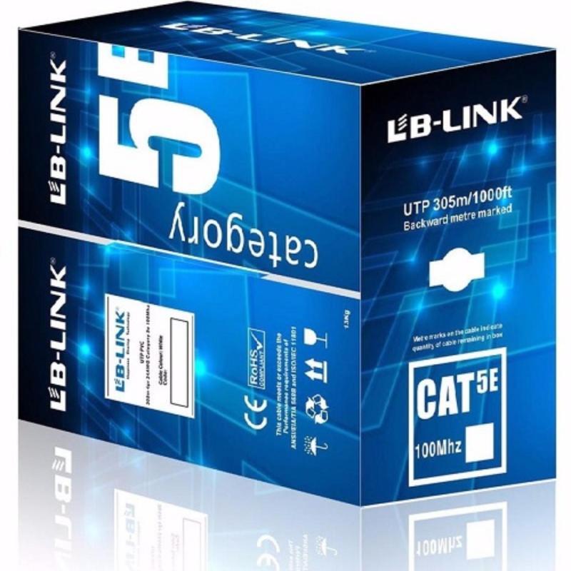 Bảng giá Cuộn dây cáp mạng LB-LINK Cat5e UTP 305m màu xanh Phong Vũ
