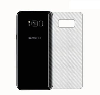Dán lưng vân sần Cacbon Samsung galaxy S8 Plus - Mờ