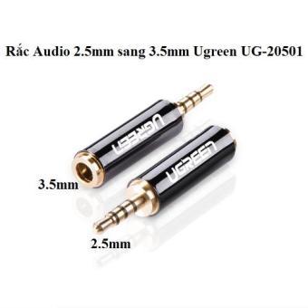 Đầu chuyển đổi 2.5 sang 3.5mm Ugreen UG-20501 (Đen)