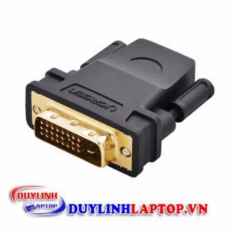 Đầu chuyển đổi DVI (24+1) to HDMI (âm) chính hãng Ugreen 20124 - 8801418 , UG244ELAA43IWBVNAMZ-7407125 , 224_UG244ELAA43IWBVNAMZ-7407125 , 140000 , Dau-chuyen-doi-DVI-241-to-HDMI-am-chinh-hang-Ugreen-20124-224_UG244ELAA43IWBVNAMZ-7407125 , lazada.vn , Đầu chuyển đổi DVI (24+1) to HDMI (âm) chính hãng Ugreen 20124