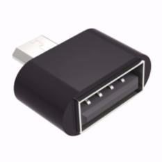 Đầu chuyển Micro USB OTG cho máy tính bảng và smart phone (đen) - Hàng nhập khẩu