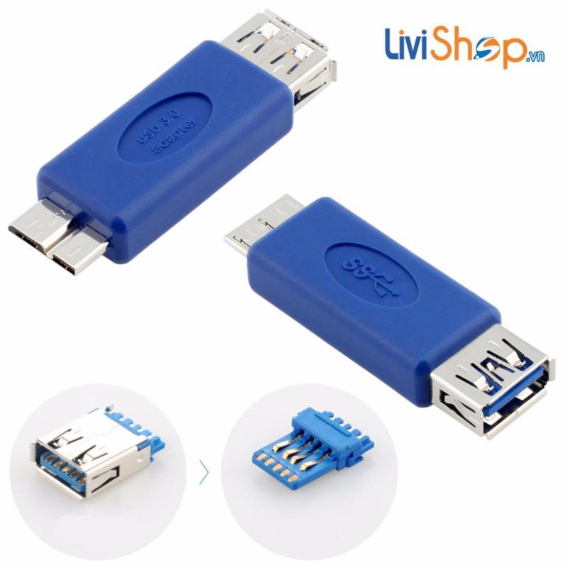 Bảng giá Đầu chuyển OTG USB 3.0  Micro B sang USB Full size LV062 Phong Vũ