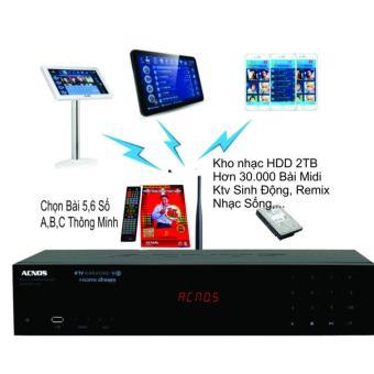 Đầu karaoke Wifi Chuyên Nghiệp AcnosHDD 2TB SK5910KTV-W