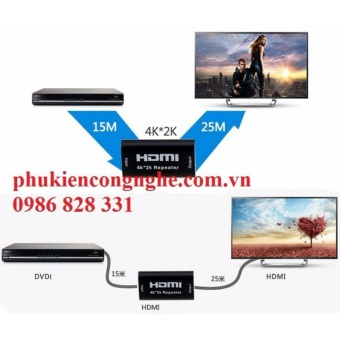 Đầu nối HDMI 40m hỗ trợ 4K*2K có Chip khuếch đại tín hiệu