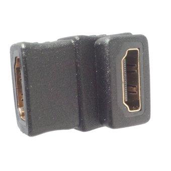 Đầu nối HDMI đổi góc chữ L 2 đầu âm Connect Adapter