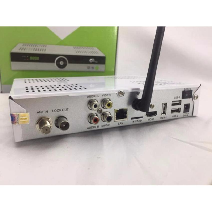 Đầu thu giải trí đa phương tiện Android tivi box kết hợp Đầu thu DVB T2 của Truyền hình VTC...
