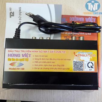 Đầu thu kỹ thuật số DVB-T2 HÙNG VIỆT HV-168