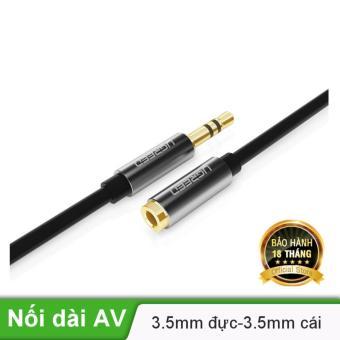 Dây AV nối dài 3.5mm mạ vàng dài 1m UGREEN AV118 10592 - Hãng phân phối chính thức
