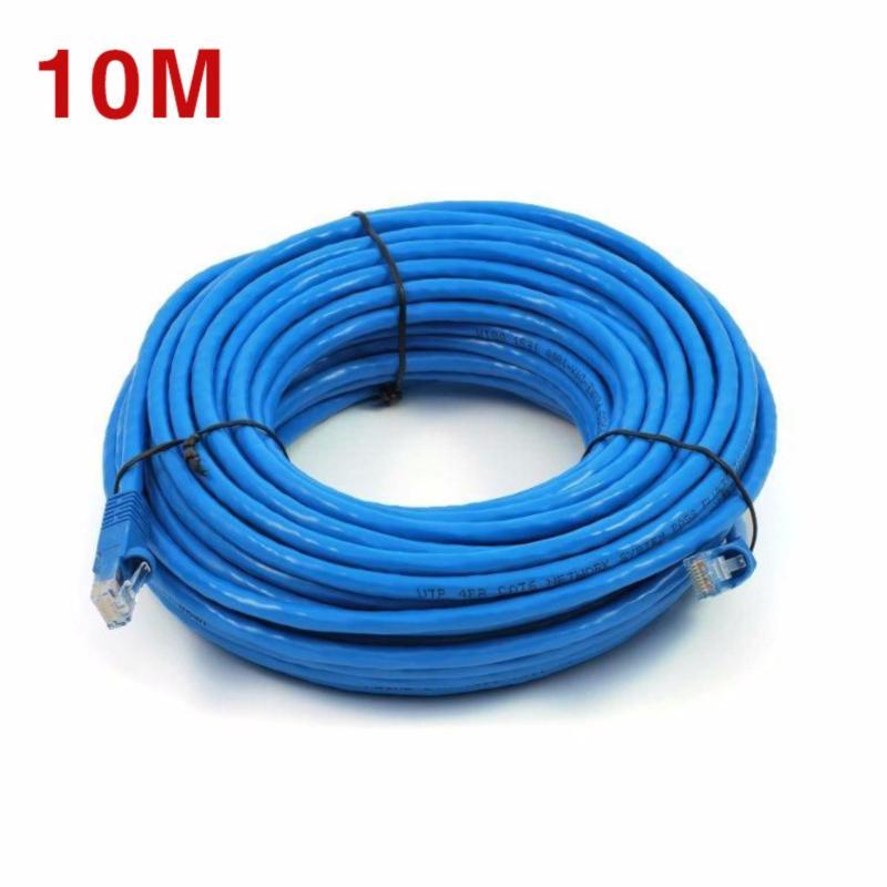 Bảng giá Dây Cáp mạng internet/ Mạng LAN K&H 2 đầu đúc sẵn 10M loại tốt Phong Vũ