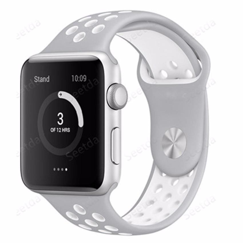Hình ảnh Dây đeo đồng hồ Apple Watch Nike+ 38mm - Hàng nhập khẩu