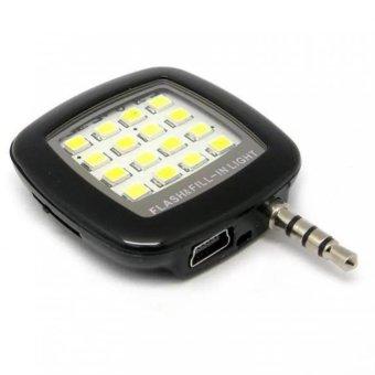 Đèn flash 16 bóng led hỗ trợ chụp hình cho điên thoại (Đen) - Hàngnhập khẩu - 8050661 , BA714ELAA170ZRVNAMZ-1770748 , 224_BA714ELAA170ZRVNAMZ-1770748 , 97996 , Den-flash-16-bong-led-ho-tro-chup-hinh-cho-dien-thoai-Den-Hangnhap-khau-224_BA714ELAA170ZRVNAMZ-1770748 , lazada.vn , Đèn flash 16 bóng led hỗ trợ chụp hình cho điên th