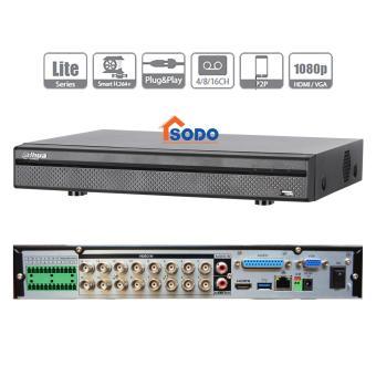 DHI-XVR5116HE: ĐẦU GHI HÌNH CHUYÊN NGHIỆP HDCVI 5 IN 1 DAHUA 1080P - 16 AUDIO IN
