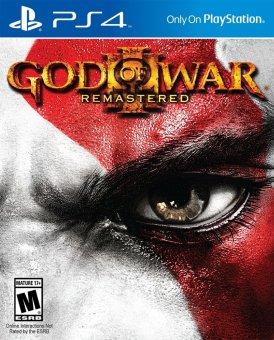 Đĩa Game PS4 - God of War 3 Remastered