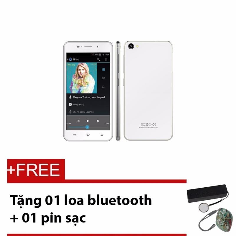Điện thoại di động LV 1800 (Bạc) - Tặng 01 loa bluetooth + 01 pin sạc