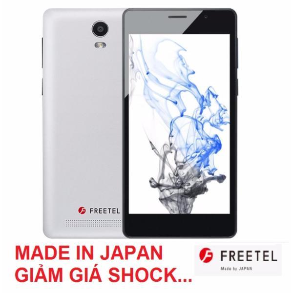 Điện thoại Freetel Priori 3S Pin 4000mAh Japan (Trắng) - Hãng Phân Phối Chính Thức
