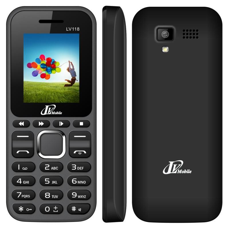 Điện thoại LV118 2 sim ( Đen)- Hàng nhập khẩu