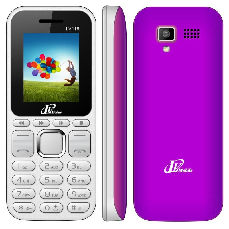 Điện thoại LV118 2 sim ( Trắng)- Hàng nhập khẩu