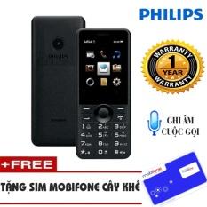 So sánh giá Điện thoại Philips E168 Đen Không Kèm Thẻ Nhớ  Hanoitechbuy