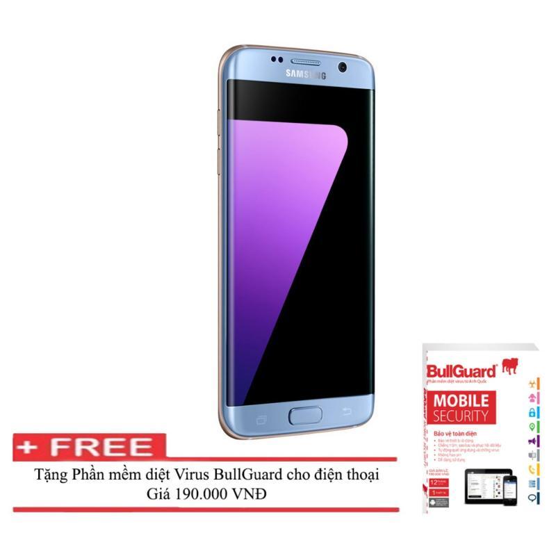 Điện thoại Samsung Galaxy S7 edge 32GB ( Xanh coral ) RAM 4GB  + Phần mềm diệt Virus BULLGUARD (Anh quốc) - Hàng nhập khẩu