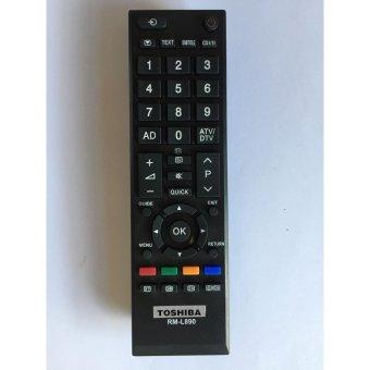 Điều Khiển TV TOSHIBA Đa Năng RM-L890 - Dùng cho các dòng TV LCD/LED TOSHIBA