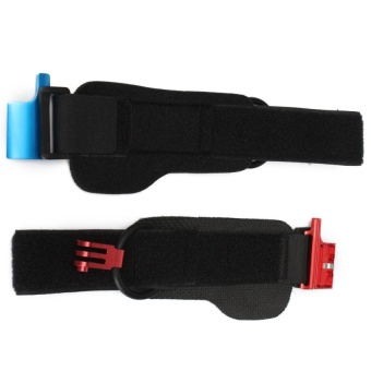 Diving Waterproof Housing Case Clip +Wrist Mount Clip Belt Set – intl  dưới x triệu