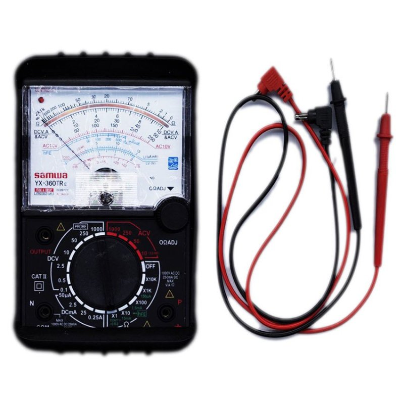 Bảng giá Đồng hồ đo kim vạn năng VOM YX360TRe có lớp bảo vệ an toàn(Đen) Phong Vũ