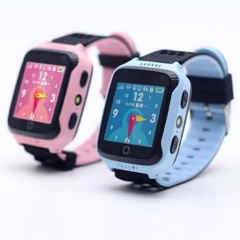 Đồng hồ thông minh định vị trẻ em GPS Tracker Q528 (Xanh)
