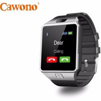 Đồng hồ thông minh gắn sim Cawono Z09 2017 (Đen bạc)