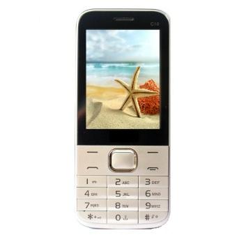 ĐTDĐ xem tivi Mobile C10 2 sim (Bạc)  Cực Rẻ Tại Trường Vinh 139 (Tp.HCM)