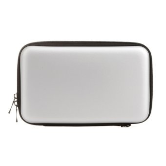 EVA Skin Carry Hard Case Bag Pouch for Nintendo 3DS XL LL (Silver)- intl