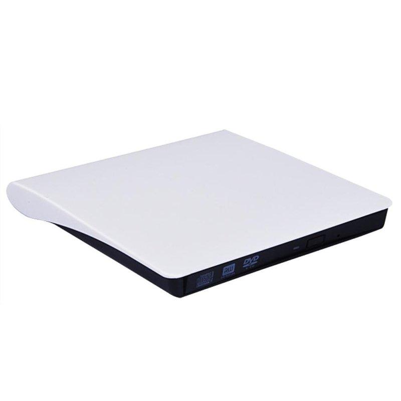 Bảng giá External USB3.0 Drive Ultra Slim CD-RW DVD-RW Super Drive Recorder Player Writer Burner High Speed Universal Portable for Laptops Notebook Desktop PC White - intl Phong Vũ