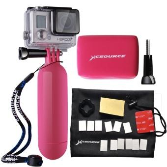 FSH Action Camera Accessories Bundle Set Kit forGoPro1/2/3/3+/4(Pink) - intl